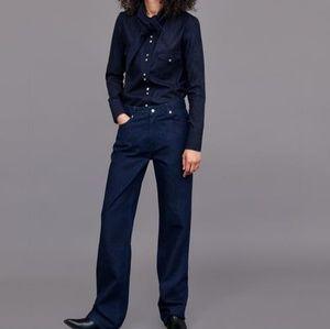 NWT Zara heritage straight jeans